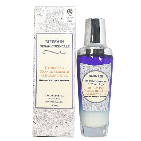 HYDRATING ORANGE BLOSSOM CLEANSER with box